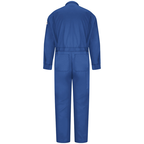 Bulwark FR 6 oz. Nomex IIIA Coveralls CNB6 Royal Blue Back