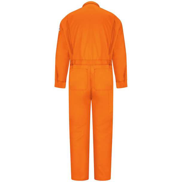 Bulwark FR 6 oz. Nomex IIIA Coveralls CNB6 Orange Back