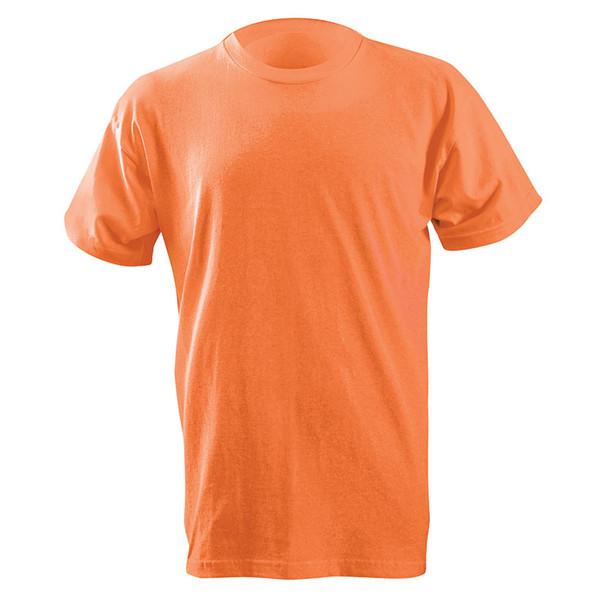 Occunomix Non-ANSI Enhanced Visibility Classic Cotton T-Shirt LUX-300 Orange Front