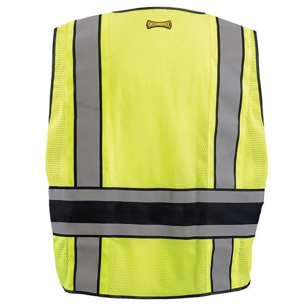 Occunomix Class 2 Hi Vis Public Safety DOR Vest LUX-DPS-DOR back