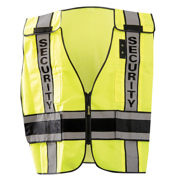 Occunomix Class 2 Hi Vis Security Public Safety DOR Vest LUX-DPSSE-DOR Front