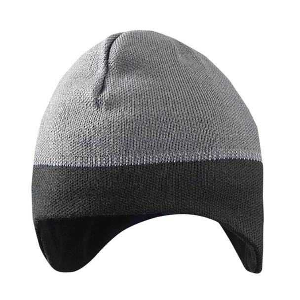 Occunomix Ear Warming Reflective Beanie LUX-EWRB Gray/Black