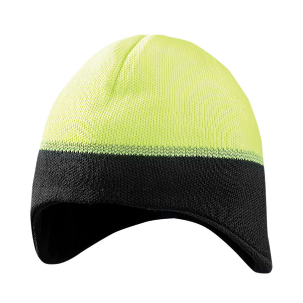 Occunomix Ear Warming Reflective Beanie LUX-EWRB Yellow/Black