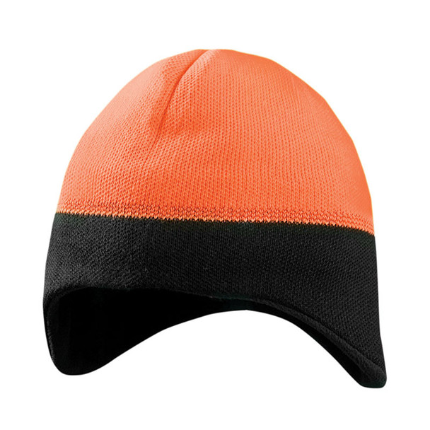 Occunomix Ear Warming Reflective Beanie LUX-EWRB Orange/Black