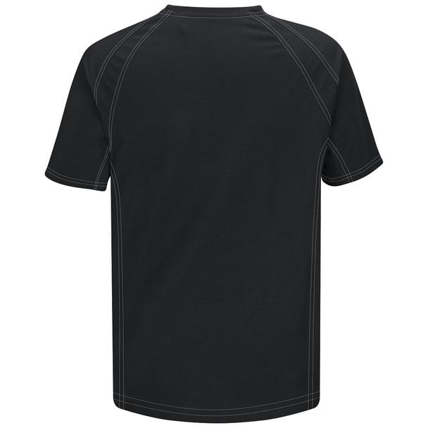 Bulwark FR iQ Series Comfort Knit Short Sleeve T-Shirt QT30 Black Back