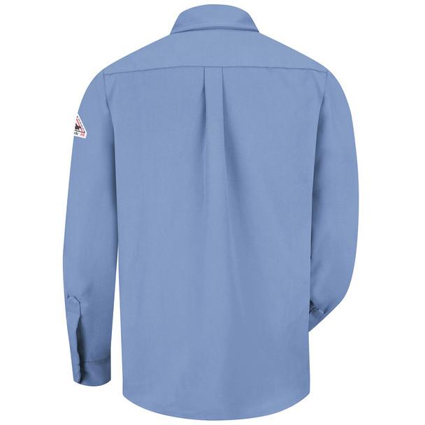 Bulwark FR Dress Shirt 7 oz SMU2 Light Blue Back