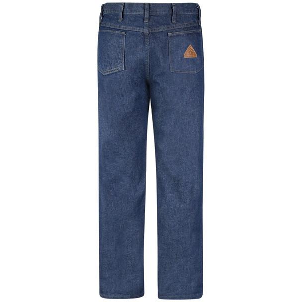 Bulwark FR 14.75 oz. Excel Prewashed Denim Jeans PEJ4 Back