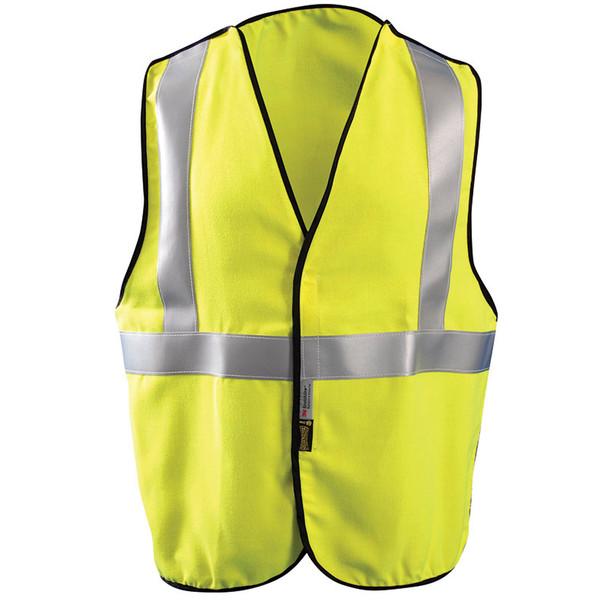 Occunomix FR Class 2 Hi Vis Yellow Safety Vest LUX-SSBRPFR