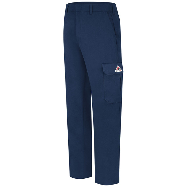 Bulwark FR Cargo Pocket Pants PMU2 Navy Side
