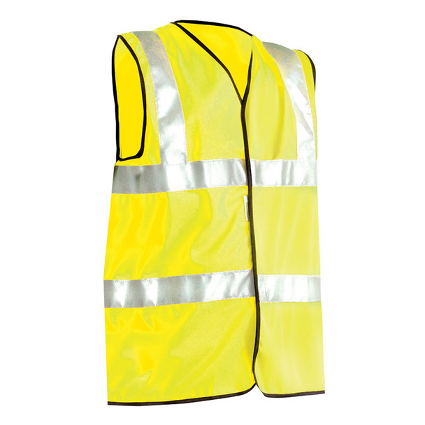 Occunomix Class 2 Hi Vis Safety Vest Class 2 LUX-SSFULLG Yellow Front