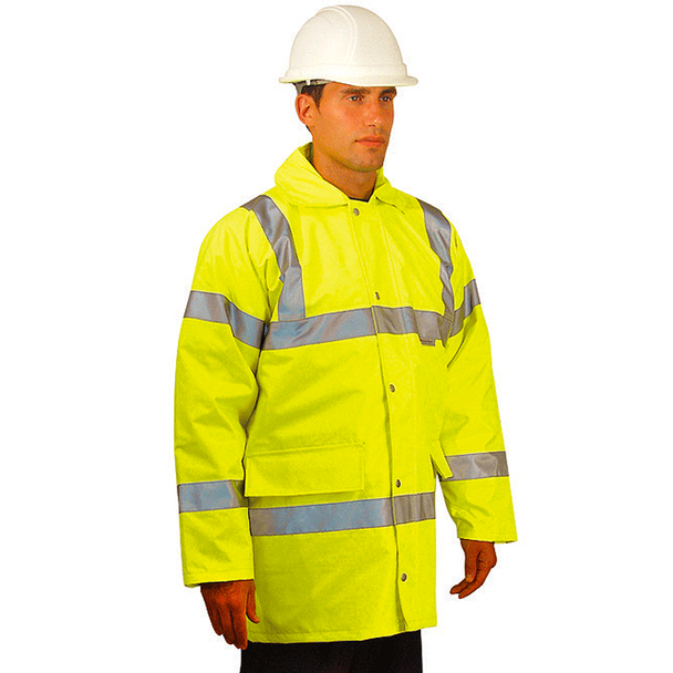Occunomix Class 3 Hi Vis 5-in-1 Winter Coat LUX-TJFS Front