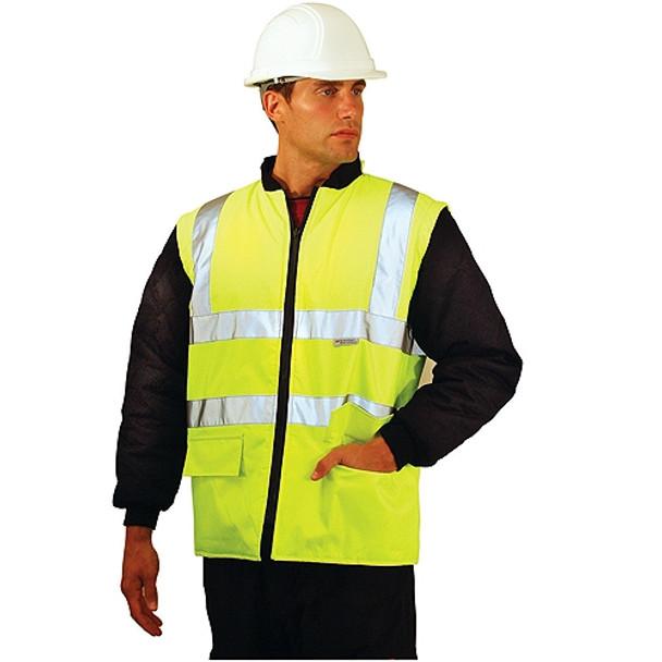 Occunomix Class 3 Hi Vis 5-in-1 Winter Coat LUX-TJFS Vest