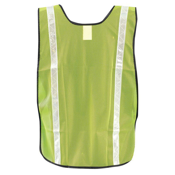 Occunomix Non ANSI Hi Vis Mesh Vest Gloss Reflective LUX-XGTM Yellow Back