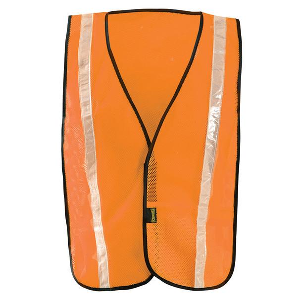 Occunomix Non ANSI Hi Vis Mesh Vest Gloss Reflective LUX-XGTM Orange