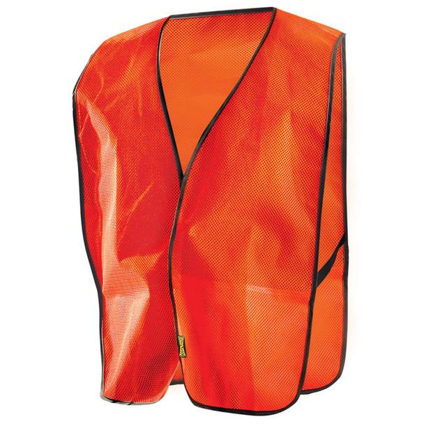 Occunomix Non ANSI Mesh Vest LUX-XNTM Orange Front
