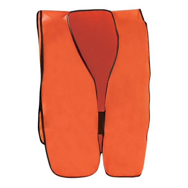 Occunomix Non ANSI Hi Vis Economy Safety Vest LUX-XNTS Orange Front