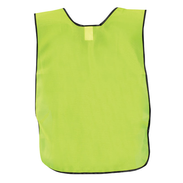 Occunomix Non ANSI Hi Vis Economy Safety Vest LUX-XNTS Yellow Back