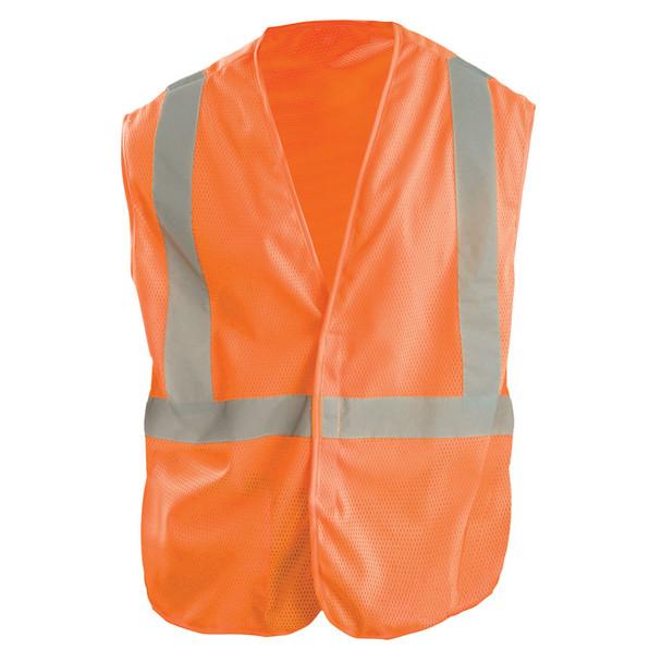 OK-1 Class 2 Hi Vis Orange Economy Mesh Vest OK-A1O