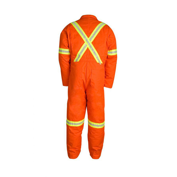 Big Bill X-Back Enhanced Visibility Two-Tone Cold Weather Insulated Coverall 837BF Back