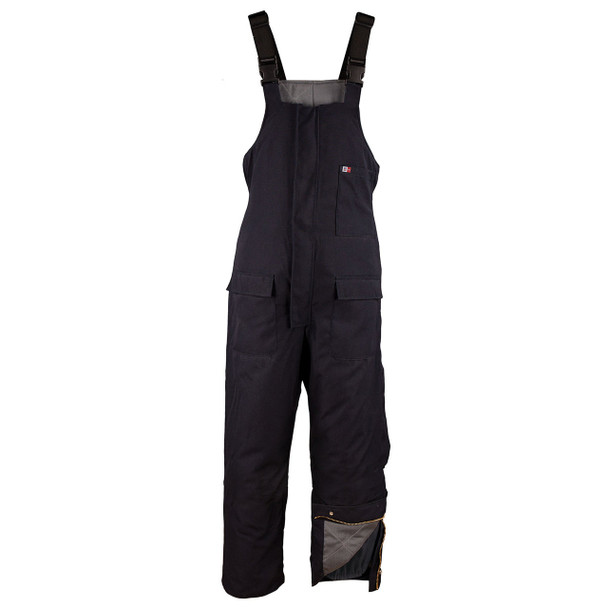 Big Bill FR Insulated UltraSoft Cold Weather Bib Overalls M900US7 Navy
