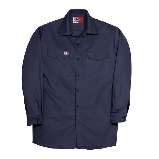 Big Bill FR Westex UltraSoft Work Shirt TX231US7 Navy