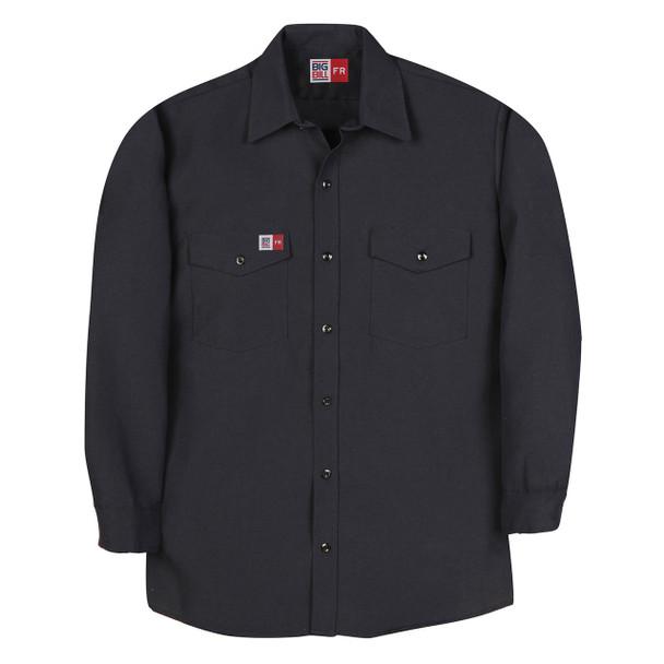 Big Bill FR 4.5 oz. Nomex Work Shirt TX290N4 Navy