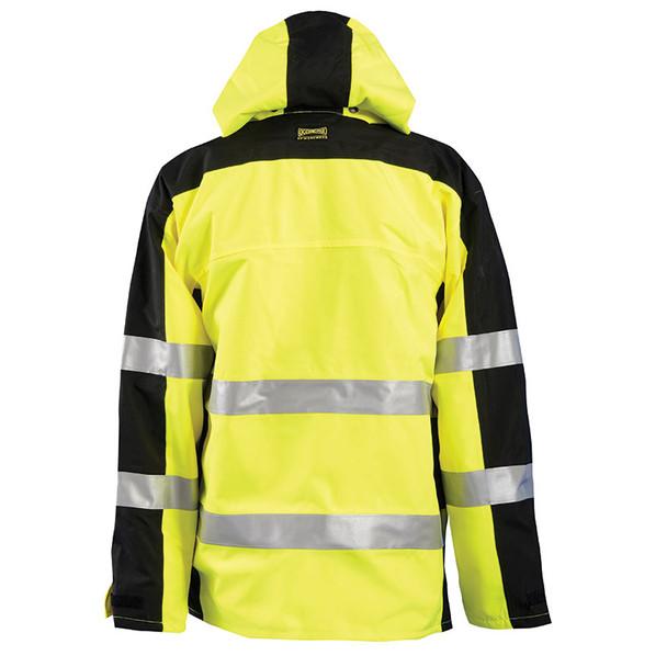 Occunomix Class 3 Hi Vis Speed Collection Rain Jacket SP-BRJ Back