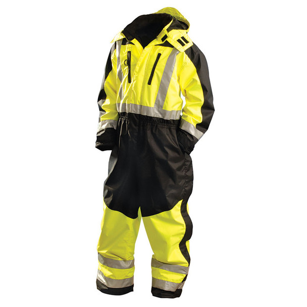 Occunomix Class 3 Cold Weather Hi Vis Speed Collection Coveralls SP-CVL Front