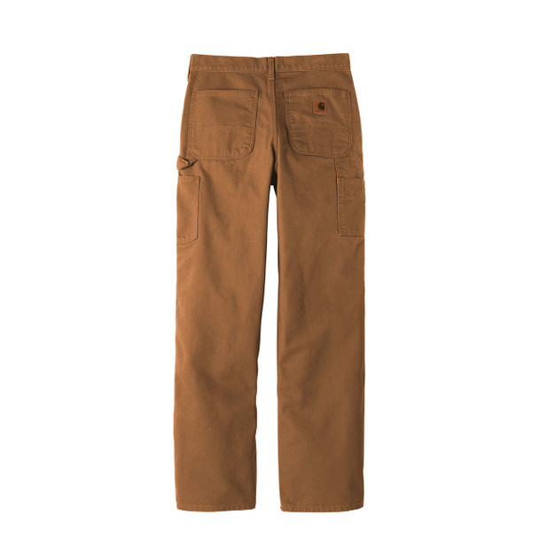 Carhartt Washed Duck Work Dungarees B11 Brown Back