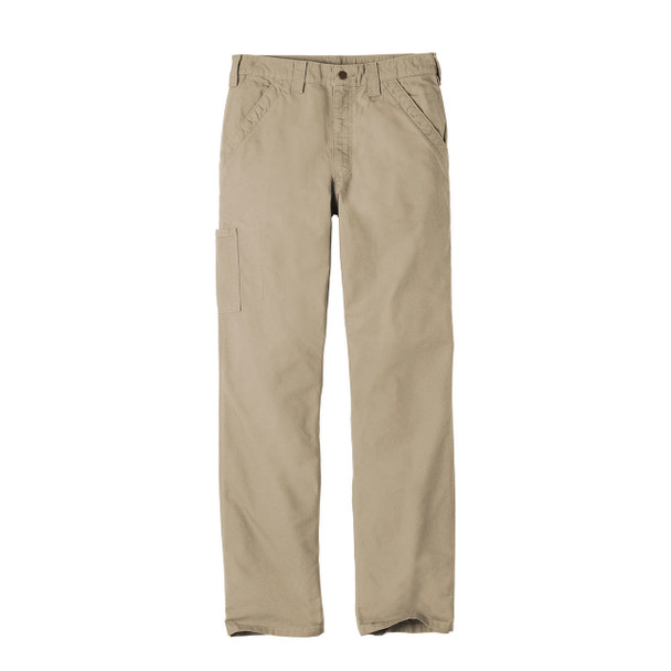 Carhartt Canvas Work Dungarees B151 Front