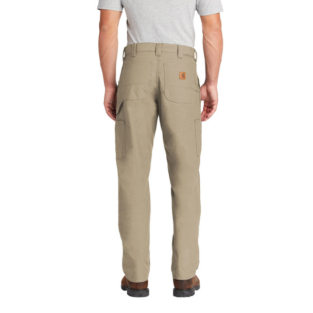 Carhartt Canvas Work Dungarees B151 In Use Back