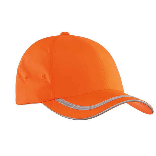 Port Authority Enhanced Visibility Cap with Black Bill C836-HVO