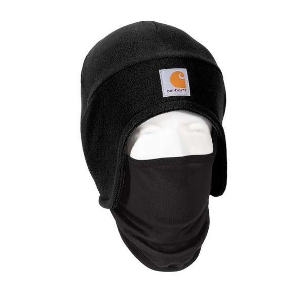 Carhartt 2 in 1 Cold Weather Hat CTA202 Black Right Side