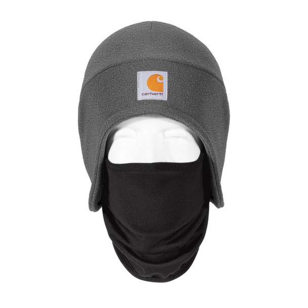 Carhartt 2 in 1 Cold Weather Hat CTA202 Charcoal Heather Front