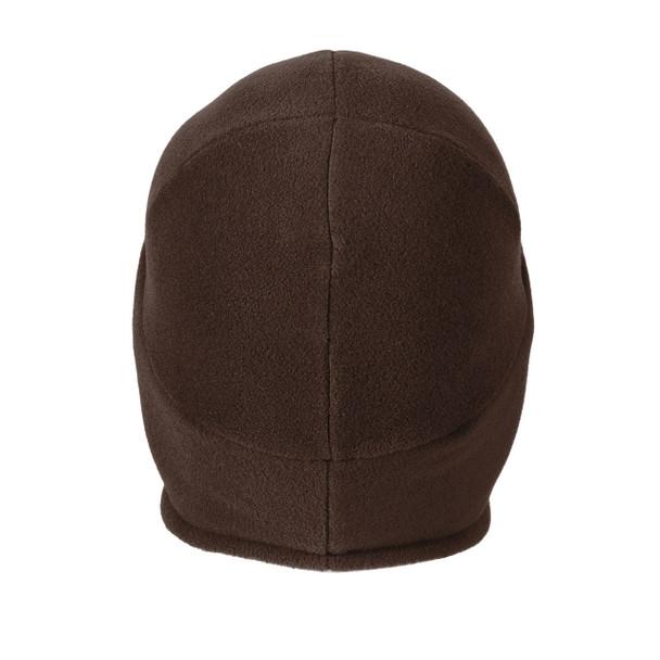 Carhartt 2 in 1 Cold Weather Hat CTA202 Dark Brown Back