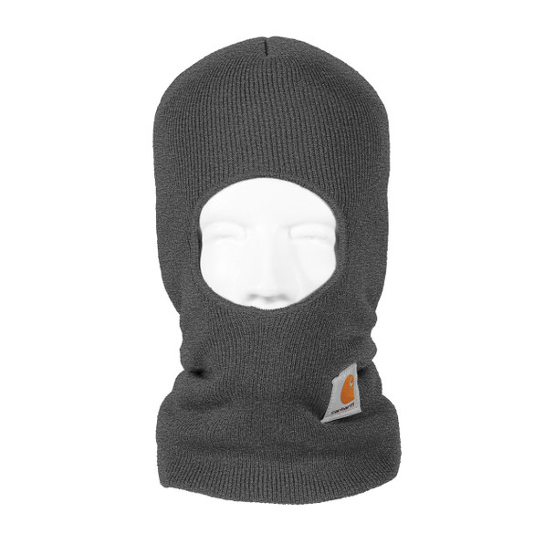 Carhartt Face Mask Cold Weather Headwear A161 Charcoal Heather Front
