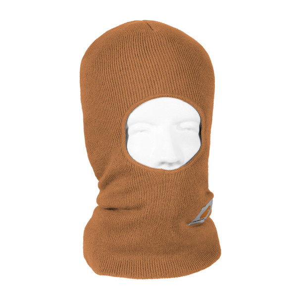 Carhartt Face Mask Cold Weather Headwear A161 Brown Right Side