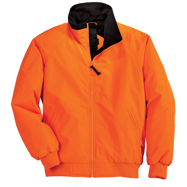 Port Authority Challenger Enhanced Visibility Jacket J754S Safety Orange