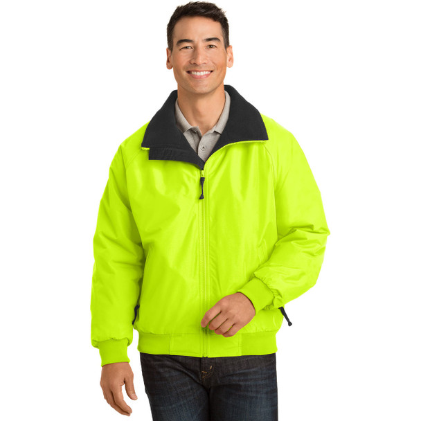 Port Authority Challenger Enhanced Visibility Jacket J754S Safety Yellow Front