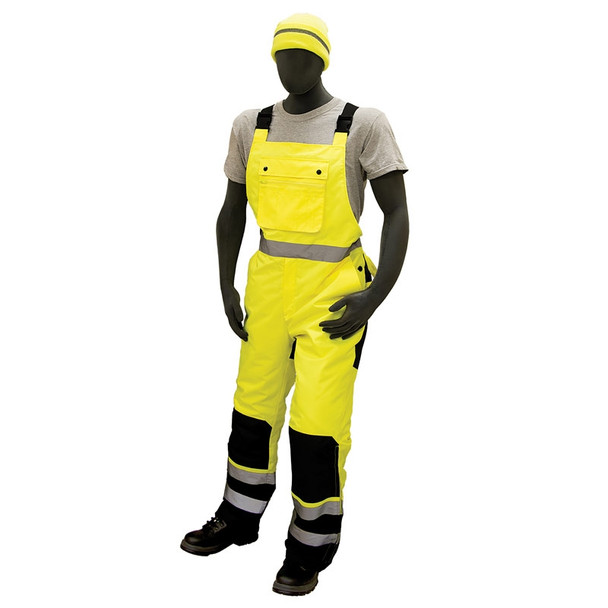 Majestic Class E Hi Vis Yellow Insulated Waterproof Overalls 75-2357