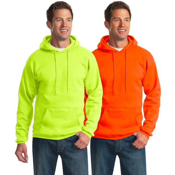 Port and Company Enhanced Visibility Hooded Sweatshirt PC90H