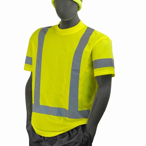 Majestic Class 3 Hi Vis Yellow T Shirt 75-5303