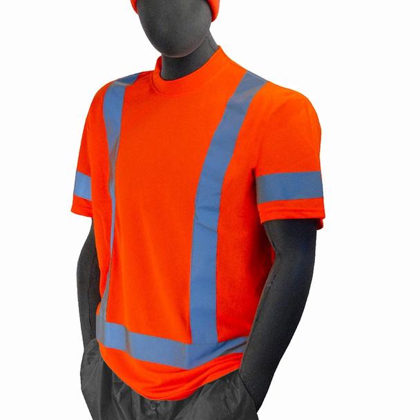 Majestic Class 3 Hi Vis Orange T-Shirt 75-5304