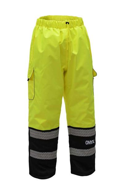 GSS Class E Hi Vis Lime Insulated Winter Pants 8711