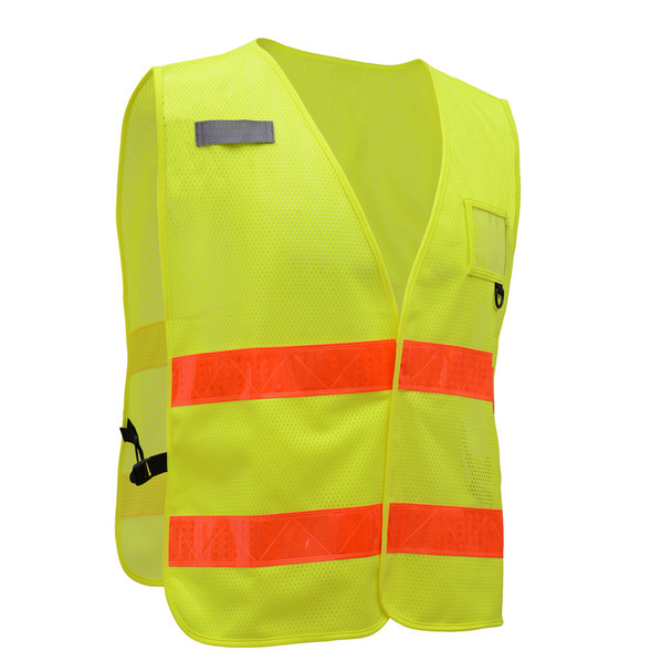 GSS Non-ANSI Enhanced Visibility Lime Mesh Vest 3111 Right Side