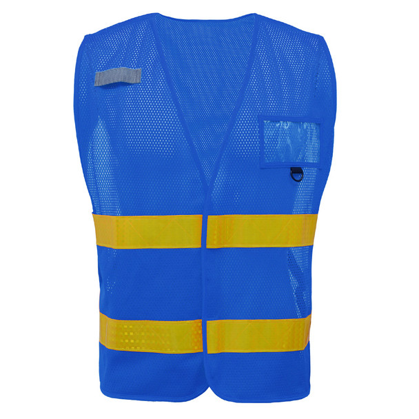 GSS Non-ANSI Enhanced Visibility Blue Mesh Vest 3113
