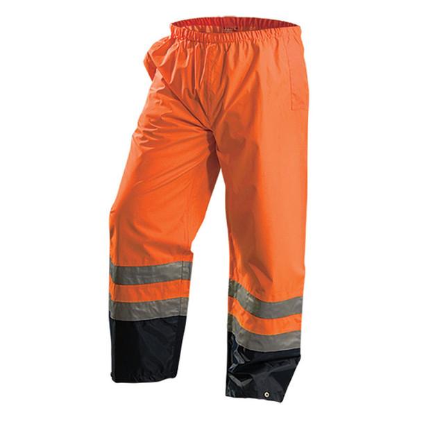 Occunomix Class E Hi Vis Premium Breathable Pants LUX-TENR Orange