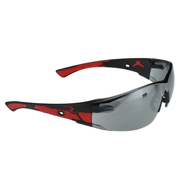 Radians Box of 12 Obliterator Silver Mirror Lens Safety Glasses OBL1-60