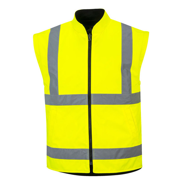 PortWest Class 3 Hi Vis 5-in-1 Executive Jacket US768 Inside Jacket without Sleeve