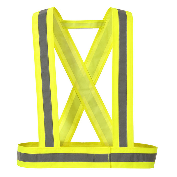 PortWest Hi Vis Yellow Reflective Strap HV55